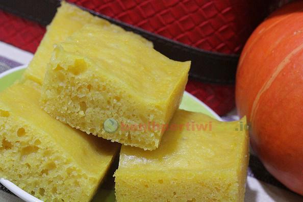 Kue Pumpkin dari Waluh Red Lampion