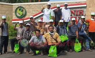 Kunjungan 1000 Petani di Show Farm Benih Pertiwi
