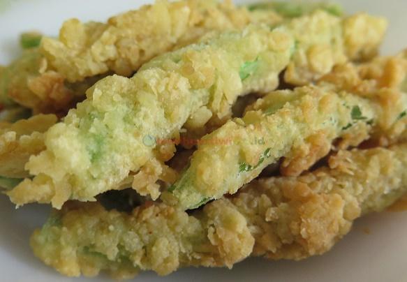 Buncis Crispy, Camilan Unik dari Sayur