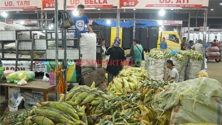 Jagung manis Paragon di Pasar malam MMTC MEDAN